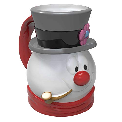 Ceramic Snowman - Zak Designs  Frosty the Snowman Frosty Unique 3D Character Sculpted Ceramic Coffee Mug, Collectible Keepsake  and Wonderful Tea Mug  (15 oz, Frosty, BPA-Free)