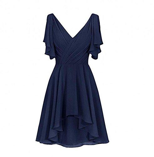 Navy Navy Damen Kleid Beauty KA Beauty KA Beauty Kleid Kleid KA Damen Navy Damen OqwXx5R