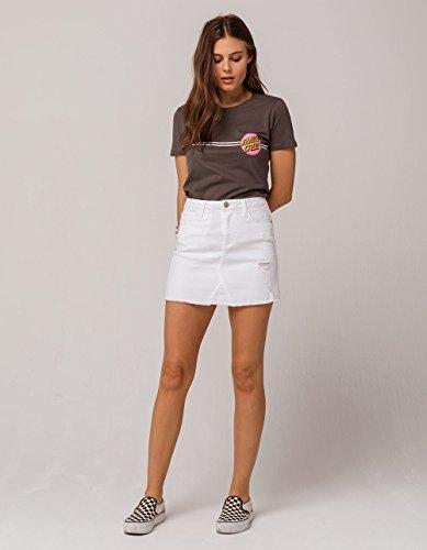 Santa Cruz Girls Other Dot Fitted Short-Sleeve Shirt Small Heavy Metal by Santa Cruz (Image #3)