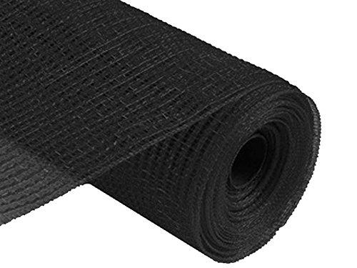21 Inch X 10 Mesh Roll - Black