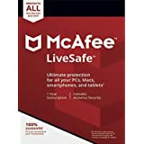 McAfee LiveSafe Ultimate Protection for Unlimited Devices [Activation Code Only]