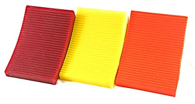 Elasco Wheel Chock, Weatherproof, Outdoor Grade, Polyurethane Better Than Rubber or Plastic, Keeps Your Trailer or RV in Place
