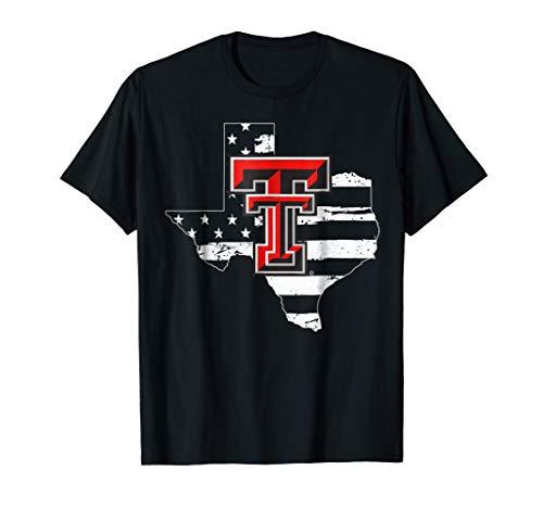 - Texas Tech Red Raiders Logo State T-Shirt - Apparel