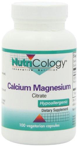 Nutricology Calcium Magnesium Citrate, Vegicaps, 100-Count For Sale