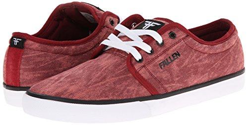 FALLEN FORTE 2 OXBLOOD ACID THOMAS Signature Skate Shoes