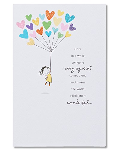 American Greetings Someone Special Birthday Card with Glitter