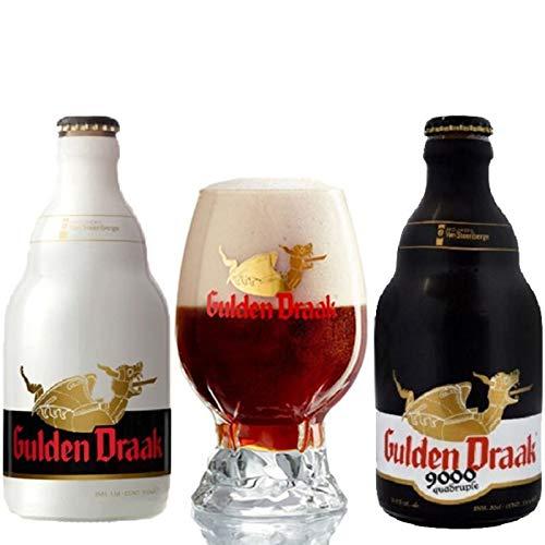 Kit cervejas Gulden Draak copo