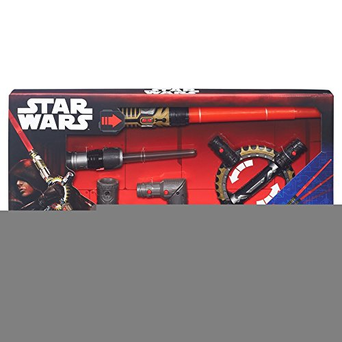 Hasbro HSBB8263 Star Wars Series 1 Roleplay Spinning Lightsaber - Set of 4 by Hasbro
