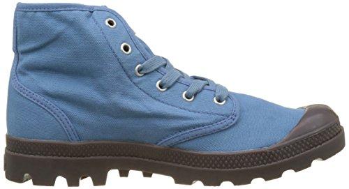 Hi Hautes dark Bleu Homme Palladium Blue Gum K90 Baskets captain Pampa fBqHaw6