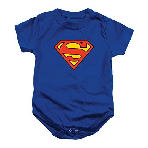 Superman Classic Logo Baby Onesie Bodysuit (18 mos)