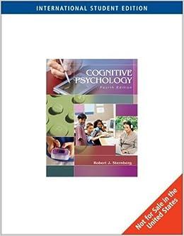 Book Cognitive Psychology