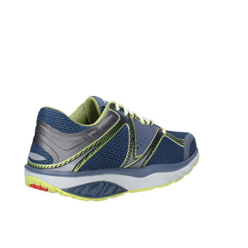 MBT Sneakers Homme Textile (42 EU, Bleu foncé)