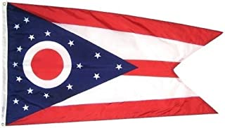 product image for All Star Flags 3x5' Ohio Heavy Weight Nylon Flag from