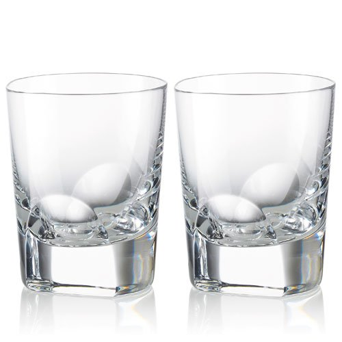 Rogaska Manhattan Double Old Fashioned Set of 2