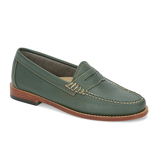 Bass G.H VZ33DtUQtV Womens Whitney Leather Weejuns Penny Loafer Shoe Bass Green