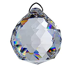 #840, Crystal Hanging 40 mm Ball by Crystal Florida by Crystal Florida
