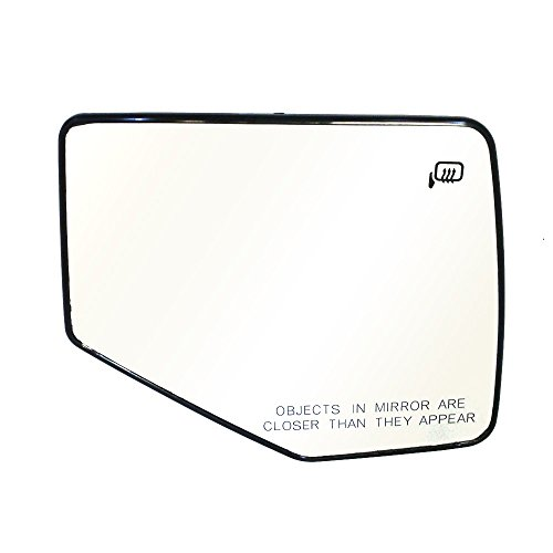 Titanium Plus 2006-2010 Ford Explorer Front,Right Passenger Side DOOR MIRROR PLATE WITH HEATED,WITH GLASS (Door Right Explorer Ford)