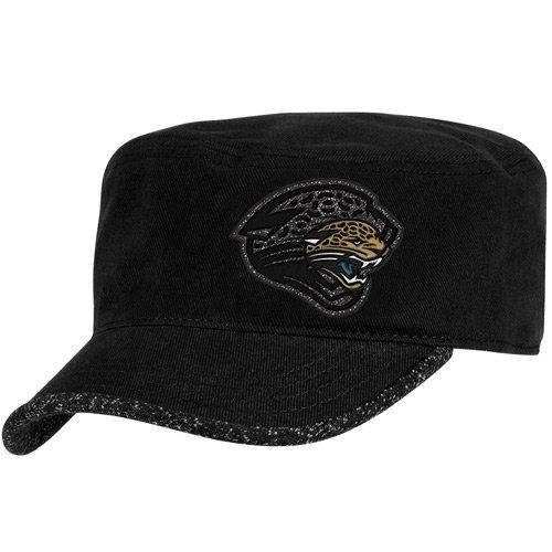 NFL Reebok Jacksonville Jaguars Ladies Black Second Season Adjustable Military ()