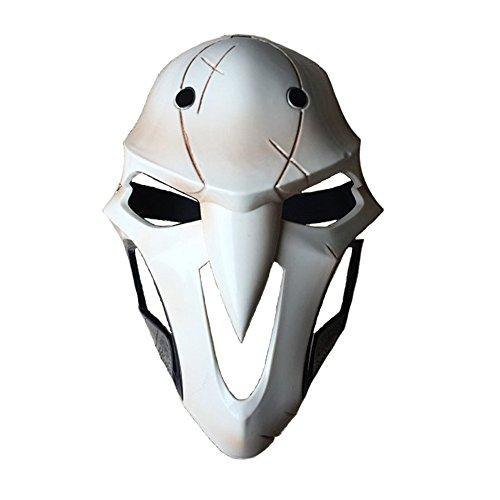 Rulercosplay Halloween Cosplay Mask Reaper Design Gabriel Reyes Plastic Cosplay Mask ()