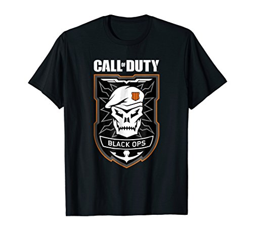 Call of Duty: Black Ops 4 Badge T-Shirt (Call Of Duty Black Ops No Sound)