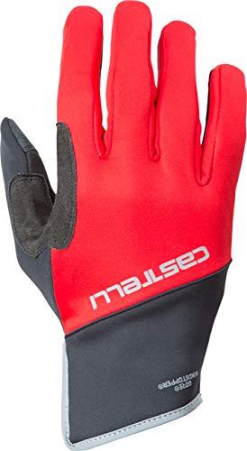 (Castelli Scalda Pro Glove - Men's Red/Black, XL)