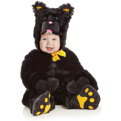 Black Cat - Jumpsuit Toddler Costume Size 6-12 months -