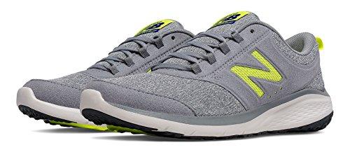 (ニューバランス) New Balance 靴?シューズ レディースウォーキング New Balance 85 Grey with Yellow グレー イエロー US 7 (24cm)