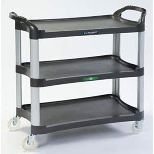 - Lakeside 500-Lb. Capacity Utility Cart With Aluminum Uprights - 16.75