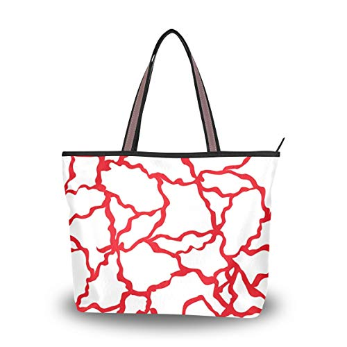 Tote Bag With Geometric...