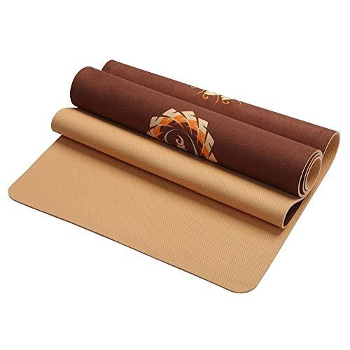 Amazon.com : HDz Store 5 MM Yoga Mat Pad Non-Slip Slimming ...