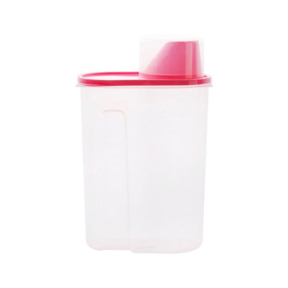 Contenitori per cereali BESTOMZ scatola alimentari da cucina trasparente