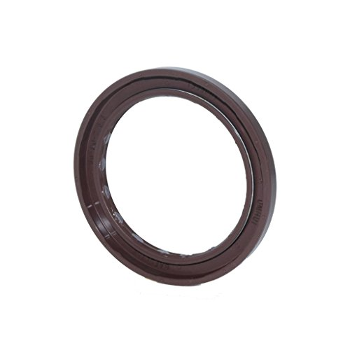 (DMHUI Brand Rotary Shaft Seal for Hydraulic Pump/Motor Size 60-80-7/5.5mm Type BAFSL1SF Material Brown)