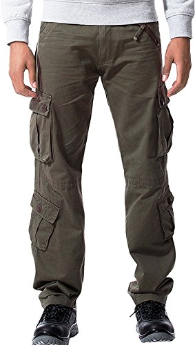 Velour Cargo Pocket Pants - 5