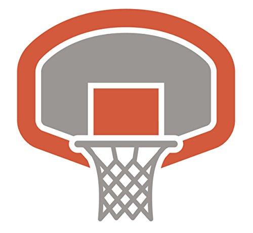 Amazon.com: Naranja y Gris Tablero de baloncesto cesta ...