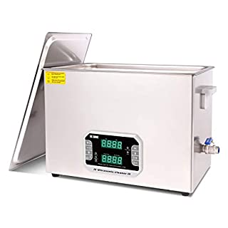 DK SONIC 30L Large Touch Ultrasonic Cleaner with Heater,Timer,Multiple Cleaning Mode for Carburetor,Automotive Parts,Gun Parts,Circuit Board, Industrial Commercial Ultrasound Cleaning Machine