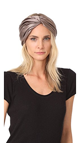 Eugenia Kim Women's Malia Turban Headband, Taupe, One Size by Eugenia Kim