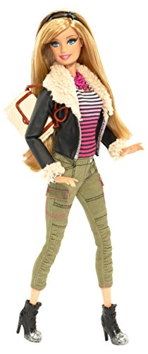Barbie Style Leather Jacket Barbie Doll ()