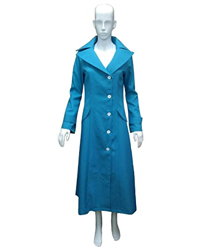 Women's Lucy Coat Costume, Blue X-Large