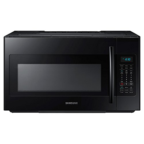 Samsung ME18H704SFB 1.8 Cu. Ft. 1000W Over-the-Range Microwave, Black by Samsung