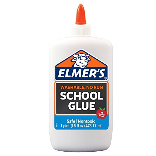 Elmer's Liquid School Glue, White, Washable, 16 Ounces - Great for Making ()