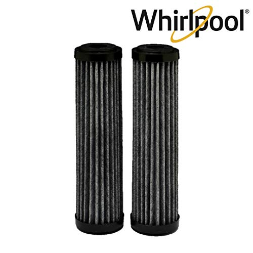 Whirlpool WHA2FF5 Standard Capacity Premium Carbon Whole Home Water Filter Replacement | Fits Most Major Brands| Extra Long Filter Life | 2 Pack