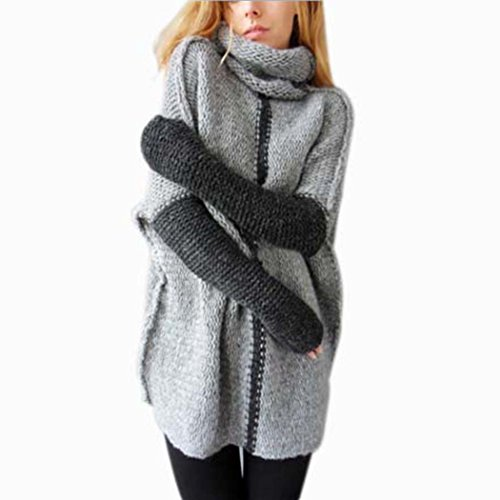 oversized cowl neck pullover - 4