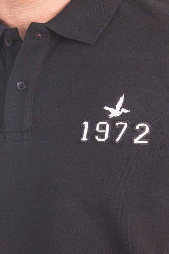 Santa Barbara Herren Poloshirt 1972 Schwarz SNB-P03