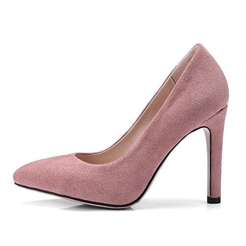 Sandales AdeeSu Femme Rose Compensées SDC05926 wXx4T7qB5