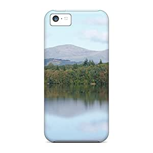 Snap-on Scotl Earlstoun Loch Cases Covers Skin Compatible With Iphone 5c
