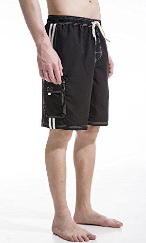 4d69466938363 Jual Akula Mens Beach Board Shorts Swim Trunks with Cargo Pockets ...