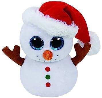 Ty TY37195 – Beanie boo S – Peluche muñeco de nieve, ...