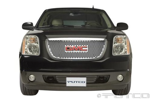 Putco 84159 Punch Mirror Stainless Steel Grille