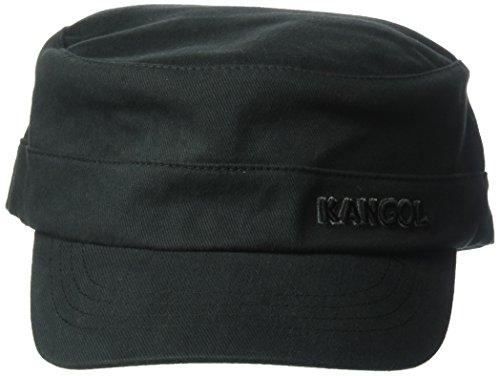 Kangol Cotton Twill Army Cap Hat, -black, XXL
