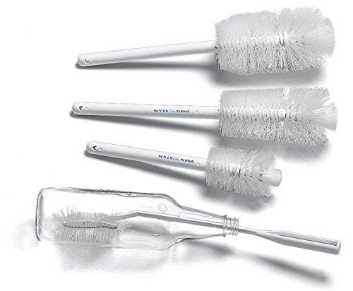 Carlisle 4041300 Dishwasher Brush, White Plastic Handle, White Polyester Bristles, 2-3/4'' Dia. Bristle, 12'' L Overall (Case of 12) by Carlisle (Image #10)